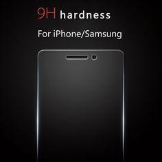 Super-nano protezione dello schermo 100% meglio di vetro temperato per iphone 7 6 6 s più 5 5 s 4 4 s samsung galaxy s4 s5 s6 note 3 4 5