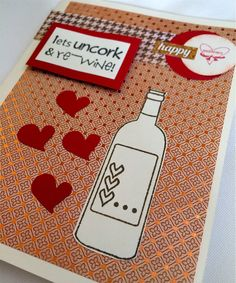Wine, Cheese and Scrapbooking: Let's Re-Wine!