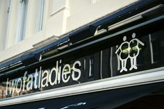 Two fat ladies seafood restaurant in Glasgow, worth a try!