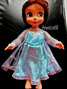 Ivetusik / Frozen šaty na Animatorku
