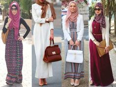 maxi dresses hijab fashion styles, Hijab outfits in pastel colors http://www.justtrendygirls.com/hijab-outfits-in-pastel-colors/