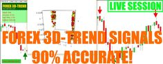 Forex 3D-Trend Signals Indicator 90%-100% Accurate✅ – live trading session✅! – Forex Robot, Trade Copier, Binary Options Robot