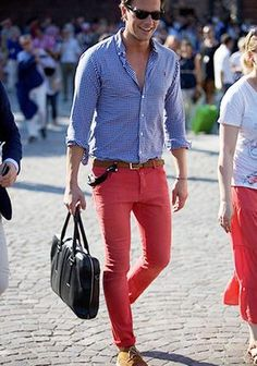 Pink Pants Coordinate #Fashion #Men's