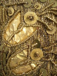Anoher look at the gold Metallic Embroidered Child's Cap.