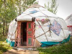 Казахская культура - юрта