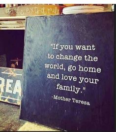 True it starts in the home                                                                                                                                                                                 More