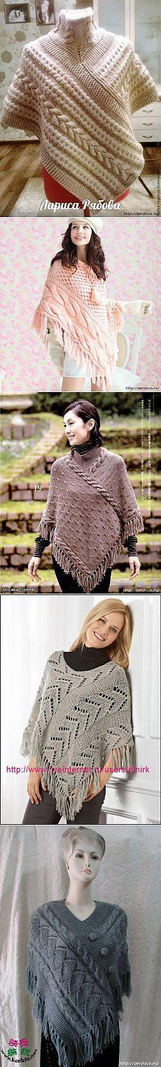 Cómo atar una bufanda, poncho