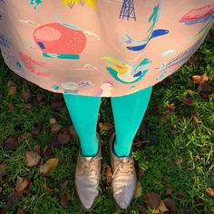 In case you're unsure, tights are the solution. ☀️ 🥶  And teal tights are a BIG TICK ✅  Repost @sallytennilledoig ・・・ I often get compliments when I wear this dress but I'm loving it even more with my new tights. #snagtightsbeachbum #snagtights #elliewhittaker #frankie4footwear Textile Design, Compliments, Tights, Teal, Big, Fabric, How To Wear, Dress, Navy Tights