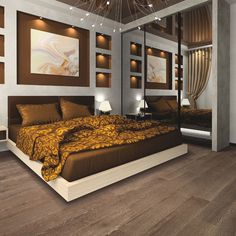 We feature lots of bedroom interior design photos so take a look for references to design your bedroom. Master bedroom interior design photos are available. Modern Master Bedroom, Master Bedroom Design, Contemporary Bedroom, Stylish Bedroom, Master Bedrooms, Artistic Bedroom, Master Room, Master Bath, Beautiful Bedroom Designs