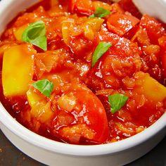 Paprikagemüse - Ein Rezept für Prep&Cook von KRUPS