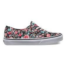"""Vans!!!!!!!!!!!""""flowers"""""""