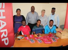 Sharp Electronics in Westmead, Pinetown donated 35 calculators and other stationery to the Siyabathanda Abantwana Orphanage in Wyebank.