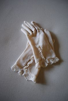 These gloves would be great for Cecily because they are very dainty and light for a younger lady. Ladies wore gloves in and outside the house so I would image she would have more than 1 pair.