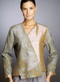 Hulda Bridgeman Design - Asymmetric Jackets