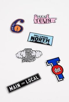 Toronto Nicknames Magnet Pack - Main and Local Toronto Houses, North Hollywood, Novelty Gifts, Magnets, Dots, Packing, Canada, Gift Ideas, Bag Packaging