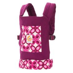 Ergobaby Doll Carrier - Purple Mystic (DC50351NL) | Ergobaby $25 USD - so cute!  Kira would love this for her toys!