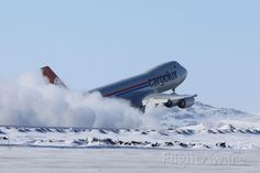 This is a expensive way to clean snow of the runway  N5573S