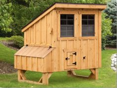LEAN-TO 4' x 5' CHICKEN COOP
