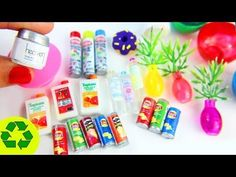 How to Make Real Working Miniature Cleaning Supplies - 10 Easy DIY Miniature Doll Crafts Doll House Crafts, Doll Crafts, Miniature Crafts, Miniature Dolls, Diy Dollhouse, Dollhouse Miniatures, Accessoires Barbie, Miniature Dollhouse Accessories, Barbie Doll House