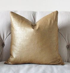 Metallic Bronze Gold Pillow Cover by Motif Pillows, $50.00+ #ThrowPillow #site:pillows247.top #site:pillows247.us