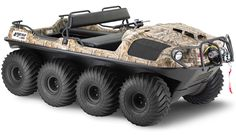 Argo 8×8 750HDi Will Run on All Terrains, Even In Open Waters