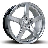 "RIVA DBZ in Hyper Silver Specification: Size: 18"" x Width:8.0J, 9.0J Fitment: 5 stud only  PRICE, SET OF 4 £432 Alloy Wheel, Dbz, Wheels, Free Delivery, Size 16, Silver, Autos, Money"