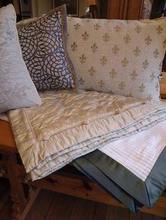 More custom Bedding by Kathleen Mullaney!