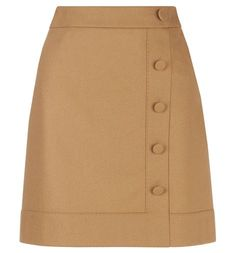 Upgrade your winter wardrobe with the Frances skirt, a waist and hip-defining A-line style with a smart button and panel detail. A Line Skirts, Short Skirts, Mini Skirts, Classy Outfits, Pretty Outfits, Hobbs Clothing, Camel Skirts, Beige Skirt, Haute Couture