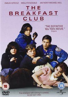 The Breakfast Club [DVD] [1985] DVD ~ Molly Ringwald, Emilo Estevez, Judd Nelson, Ally Sheedy, Anthony Michael Hall