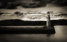 Lighthouse, darkness