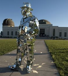 Mirror Man- what a fabulous costume.