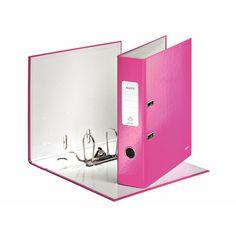 Leitz WOW Ordner A4 Rückenbreite 80mm pink metallic 1005-00-23