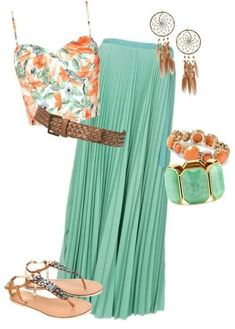 Tropical Summer Outfit