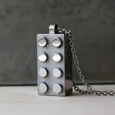 Steel Lego Necklace - Kevin