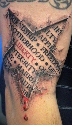 best star tattoo