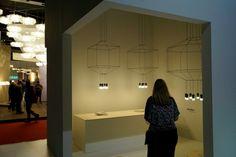 #MilanoDesignweek2015 #isalone #vibia O Design, Milan, Mirror, Mirrors