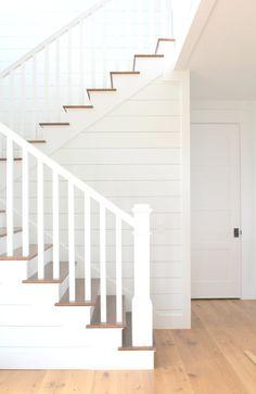 Perfect Stairs- Kara Hebert Interiors 33 Statement Stock of Stairs Ideas Design White Banister, White Staircase, Staircase Railings, Staircase Design, Staircases, Bannister, Staircase Metal, Wood Stairs, Staircase Diy