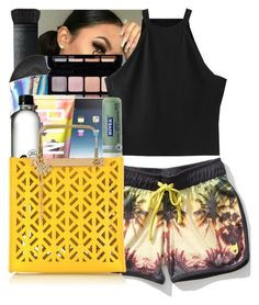 """""""AMBO"""" by yasmeen4740 ❤ liked on Polyvore featuring NARS Cosmetics, Aéropostale, Smashbox, Victoria's Secret, Nivea and Sophie Hulme"""