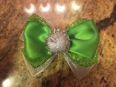 Tinkerbell Inspired Bow by RosieRissaBoutique on Etsy