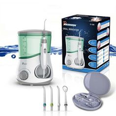 Pursonic OI-200 Professional Counter Top Oral Irrigator with 3 Nozzles for $40 http://sylsdeals.com/pursonic-oi-200-professional-counter-top-oral-irrigator-3-nozzles-40/
