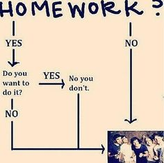 Help me! I have so much homework!?