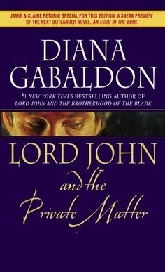 In this trilogy Diana Gabaldon takes a character from the Outlander series and makes him the main character - some of the same stories with additional plot regarding his life.  Again, well researched and written.  She is able to make the reader care about these characters.  Can't wait for more.