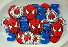 Spiderman Cookies!