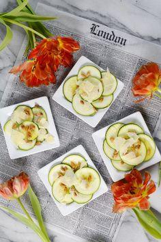 Zucchini Carpaccio - Sed Bona