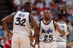 Shaquille O'Neal & Nick Anderson, Orlando Magic.