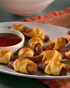 Breakfast Sausage Puffs