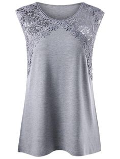 Plus Size Lace Panel Longline Tank Top- Tap the link now to see our super collection of accessories made just for you!casual ideas Affordable Fashion Clothes college casual outfits best ideas to copyI'd prefer a darker, richer color. Fashion For Petite Women, Plus Size Fashion, Womens Fashion, Top Fashion, Fashion Outfits, Fashion Design, Fashion Clothes, Cheap Fashion, Style Fashion
