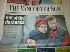 Front page.. cant believe it. Jessica did amazing writing and the photographer was so nice and clearly talented. I hope to work with you both again