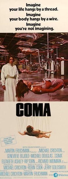 Coma (1978) Original Insert Movie Poster