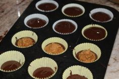 Paleo Almond Butter Cups. Healthy, Easy & Delicious with no nasty ingredients! www.thehealthnutmama.com